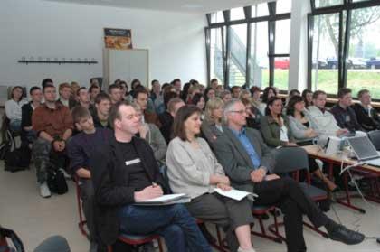 Großes Interesse bei Schülern und Lehrern für Europa