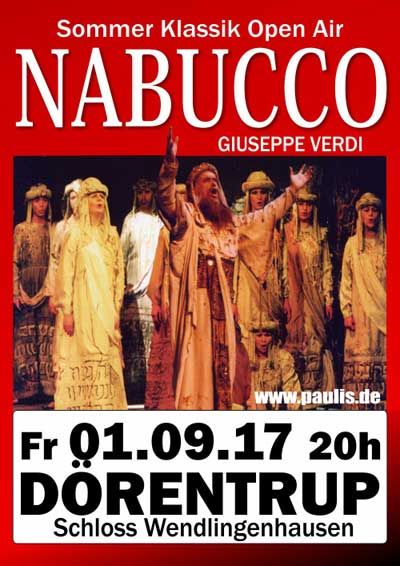 Nabucco - Dörentrup - Schloss Wendlinghausen