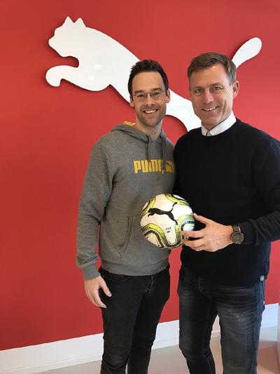 Fußballfabrik kooperiert mit Sportartikelhersteller PUMA