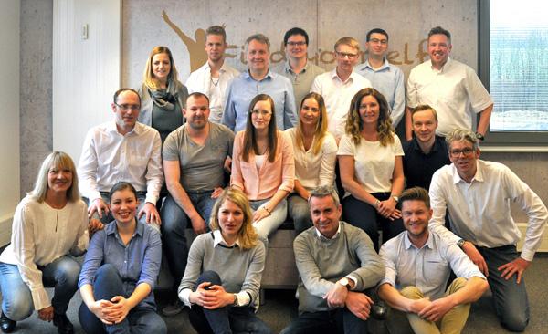 Mitarbeiter SAmAs: Die SAmAs GmbH beschäftigt derzeit 22 Mitarbeiter im Technologiepark in Paderborn.