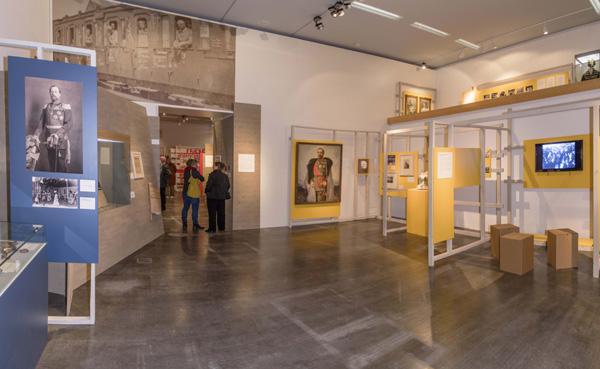 Ein Panorama von der Zeit um 1900 bis zur Revolution. ©Lippisches Landesmuseum Detmold