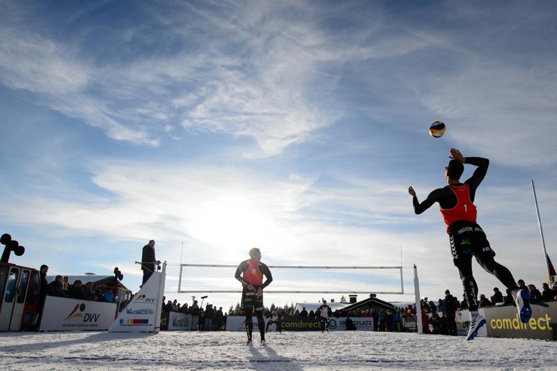 2. Deutsche Snow-Volleyball Meisterschaften finden in Willingen (Hessen) statt