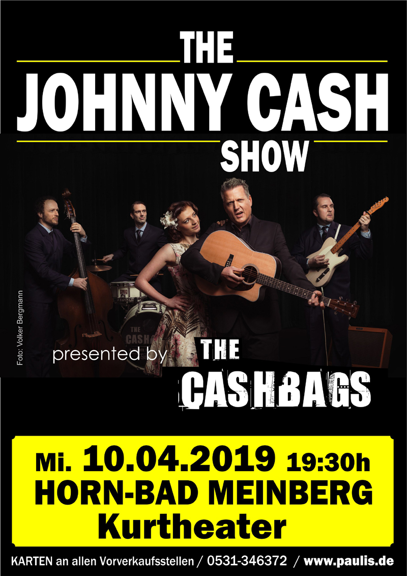 The Johnny Cash Show - Horn-Bad Meinberg, Kurtheater