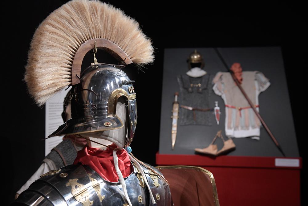 Sonderausstellung Roms Legionen