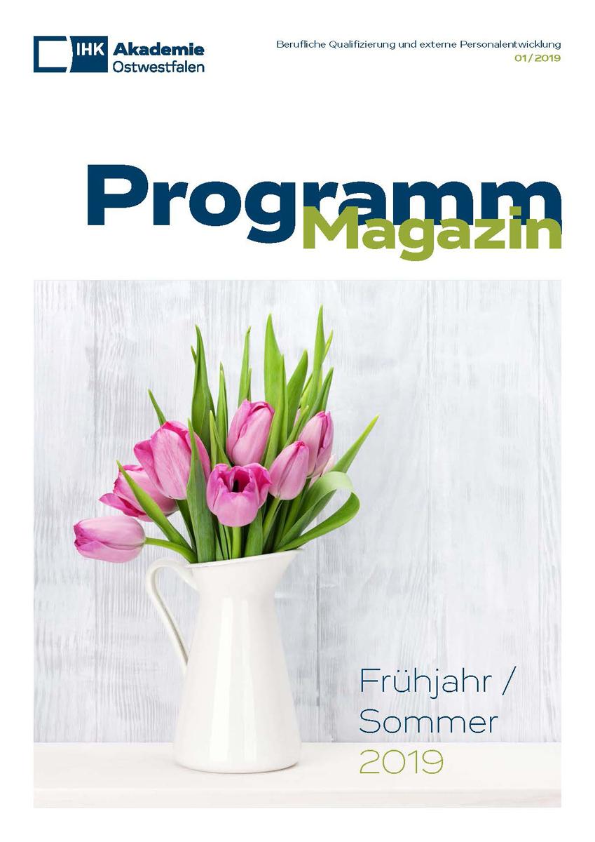 Das neue Programmheft im Frühlingslook