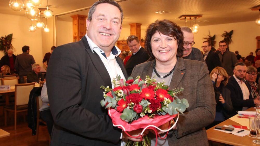 Ellen Stock und Axel Lehmann