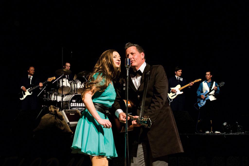 Duett auf der Bühne