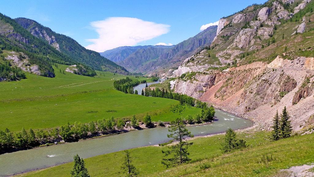 Altai,Sibirien, Russland