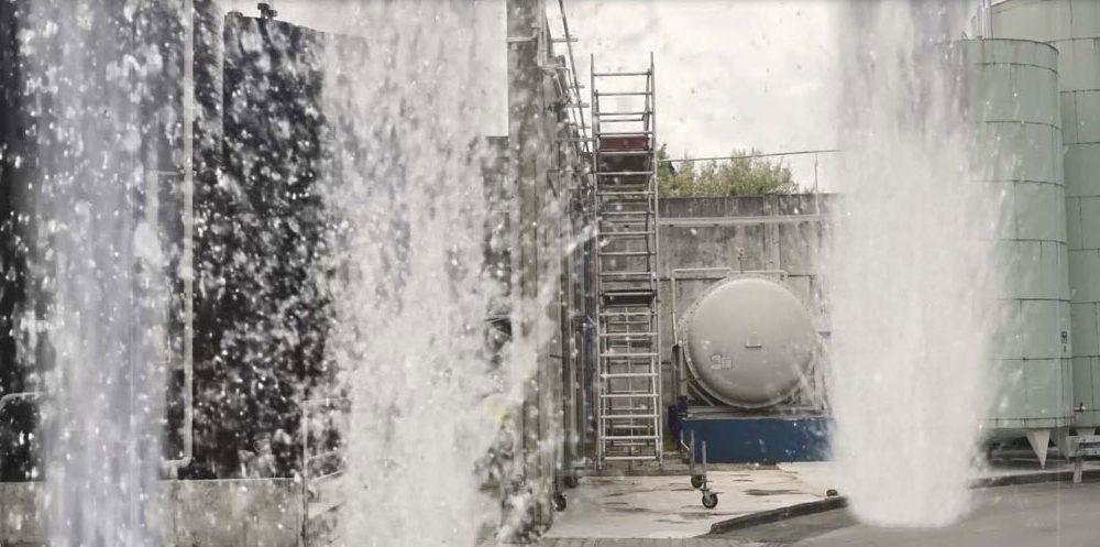 Wasserfontänen