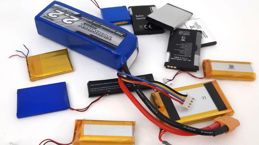 Ein Haufen Batterien