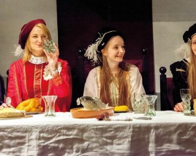 Fürstlich feiern auf Schloss Brake
